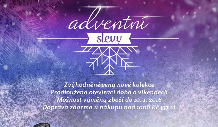 Adventní slevy
