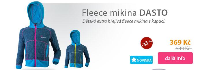 Fleece mikina DASTO