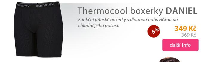 Pánské boxerky dlouhá nohavice DANIEL (THERMOCOOL)