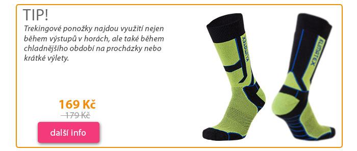 Treking vlněné ponožky SOLENE