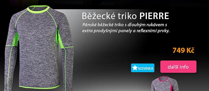 Běžecké triko Pierre