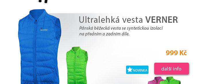 Ultralehká vesta Verner pánská
