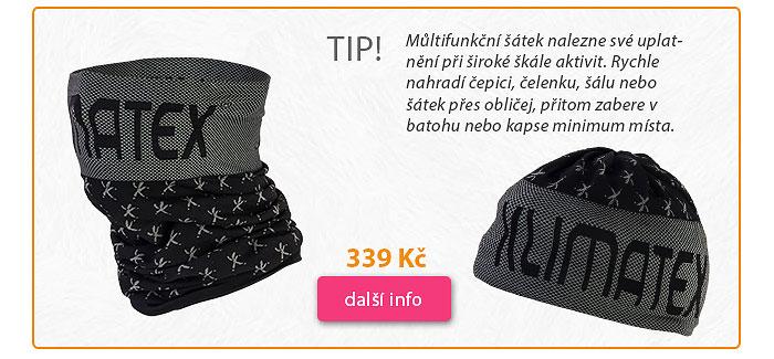 Multifunkční šátek Klimatex